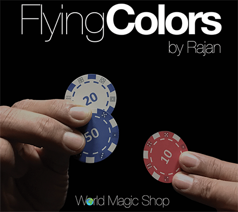 Flying Colors (Gimmicks and Online Instructions) by Rajan - Mystique Factory