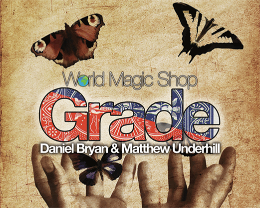 Grade (Gimmicks and Online Instructions) by Matthew Underhill and Daniel Bryan - Mystique Factory