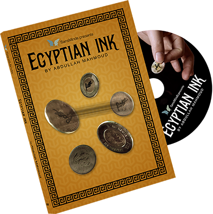 Egyptian Ink (DVD and Gimmick) by Abdullah Mahmoud and SansMinds Creative Lab