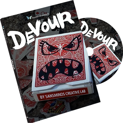 Devour (DVD and Gimmick) by SansMinds Creative Lab - Mystique Factory