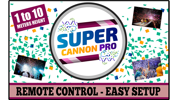 Super Cannon Pro by Aprendemagia (Gimmick and Online Instructions) - Mystique Factory