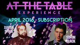 At The Table April 2016 Subscription video DOWNLOAD - Mystique Factory Magic