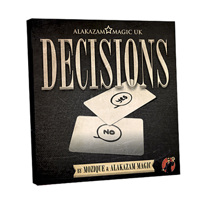 Decisions (DVD and Gimmick) by Mozique - Mystique Factory