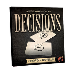 Decisions (DVD and Gimmick) by Mozique