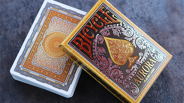 Bicycle Aurora Playing Cards by Collectable Playing Cards - Mystique Factory