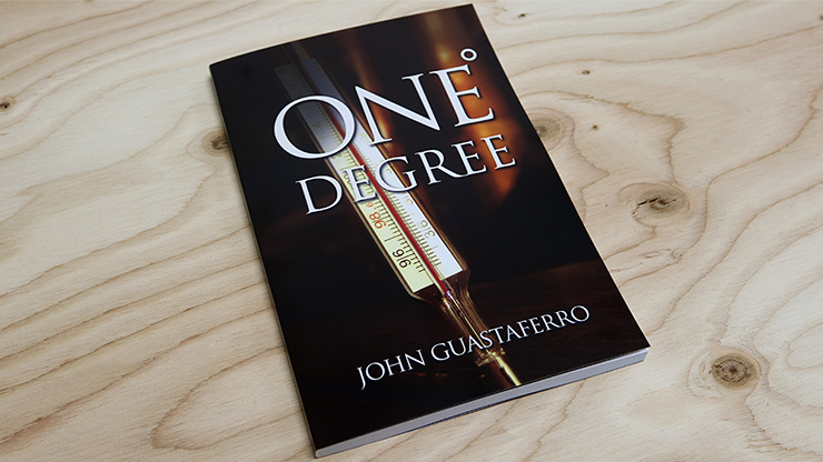 One Degree (Soft Cover) by John Guastaferro and Vanishing Inc. - Mystique Factory