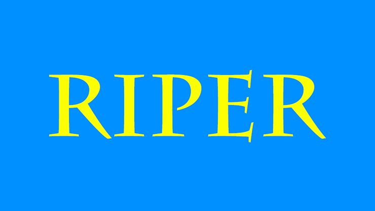 Riper by Kelvin Trinh video DOWNLOAD