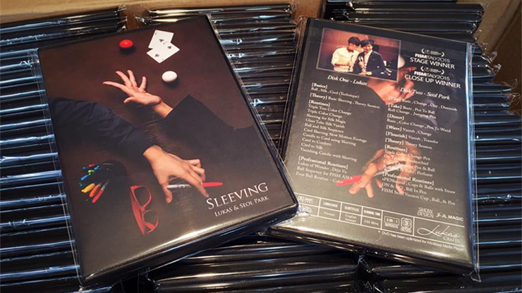 Sleeving (2 DVD Set) Collaboration of Lukas and Seol Park - Mystique Factory