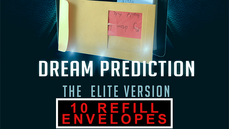 Envelopes for Dream Prediction Elite Version (10 ct.) by Paul Romhany - Mystique Factory