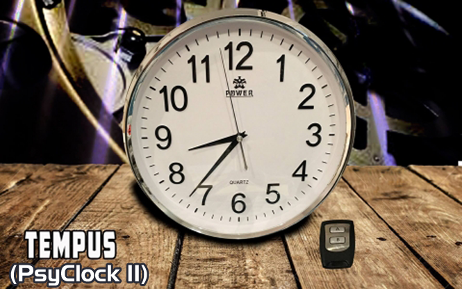 Psyclock II Tempus (Gimmick and Online Instructions) by Alakazam Magic - Mystique Factory