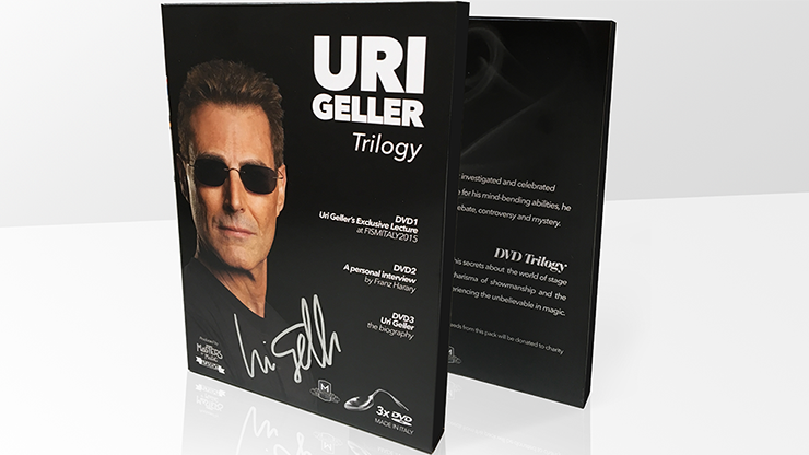 Uri Geller Trilogy (Signed Spoon & Box Set) by Uri Geller and Masters of Magic - Mystique Factory Magic