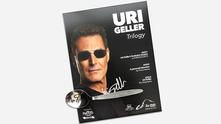 Image result for Uri Geller Trilogy by Uri Geller and Masters of Magic