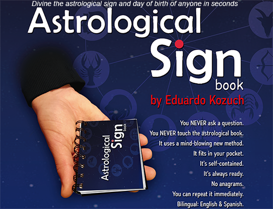 Astrological Sign by Eduardo Kozuch and Vernet Magic - Mystique Factory