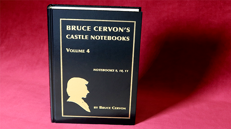 Bruce Cervon Castle Notebook, Vol. 4