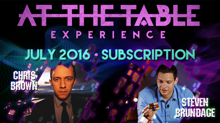 At The Table July 2016 Subscription video DOWNLOAD