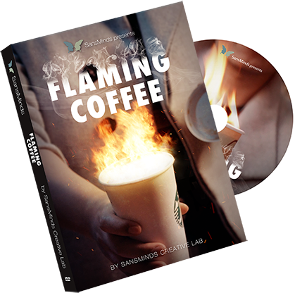 Flaming Coffee by SansMinds Creative Lab - Mystique Factory Magic