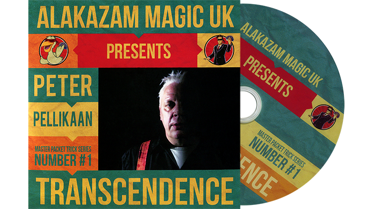 Transcendence (DVD and Gimmicks) by Peter Pellikaan and Alakazam Magic