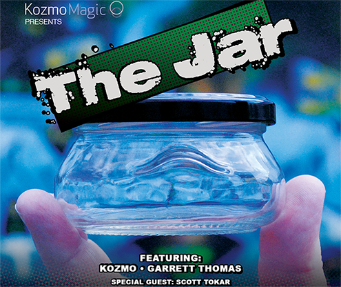 The Jar (DVD and Gimmicks) by Kozmo, Garrett Thomas and Tokar - Mystique Factory Magic