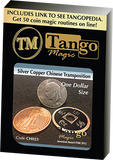 Dollar Size Silver Copper Chinese Transposition (CH023) by Tango Magic