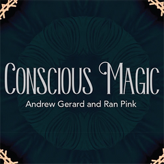 Limited Deluxe Edition Conscious Magic Episode 1 (T-Rex and Real World plus Gimmicks) with Ran Pink and Andrew Gerard - Mystique Factory Magic