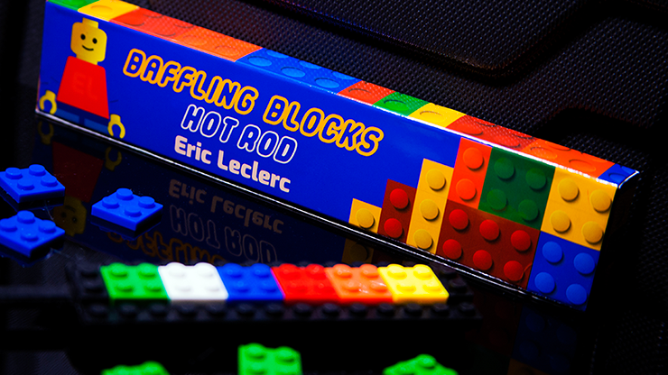 Baffling Blocks (Gimmick and Online Instructions) by Eric Leclerc - Mystique Factory