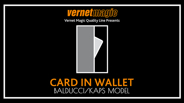 Card in Wallet (BalducciKaps) by Vernet - Mystique Factory