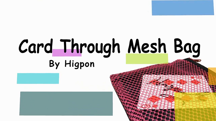 Card Through Mesh Bag by Higpon - Mystique Factory