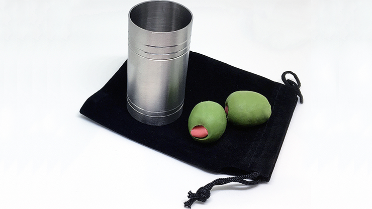 SpiritShot Measure Chop Cup with Olives By Mike Bus