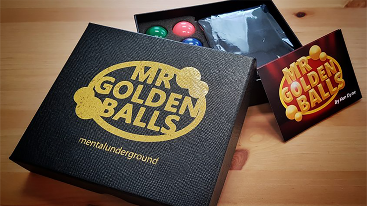 Mr Golden Balls (Gimmicks and Online Instructions) by Ken Dyne