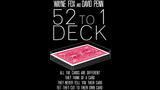 The 52 to 1 Deck (Gimmicks and Online Instructions) by Wayne Fox and David Penn - Mystique Factory