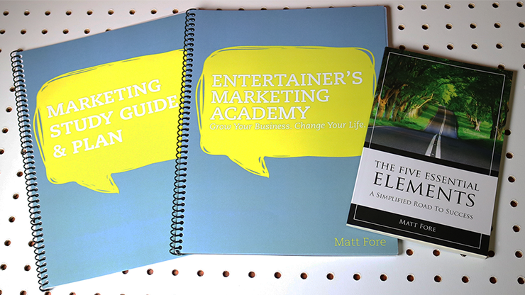 Entertainer's Marketing Academy (EMA) by Matt Fore - Mystique Factory