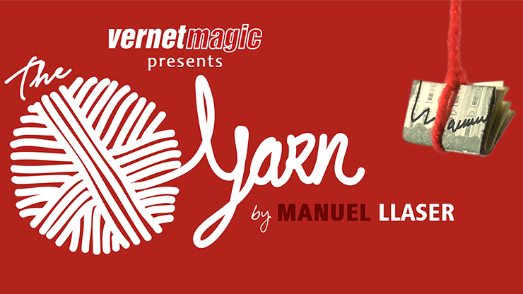 The Yarn (Gimmicks and Online Instructions) by Manuel LLaser - Mystique Factory