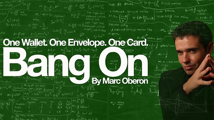 Bang On 2.0 (Gimmicks and Online Instructions) by Marc Oberon