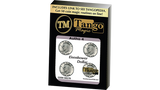 Autho 4 Eisenhower Dollar (Gimmicks and Online Instructions) by Tango - Mystique Factory