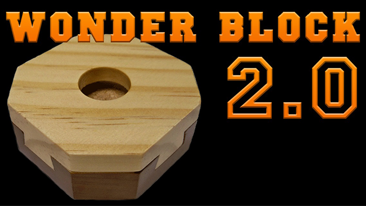 Wonder Block 2.0 (New Method) by King of Magic - Mystique Factory Magic