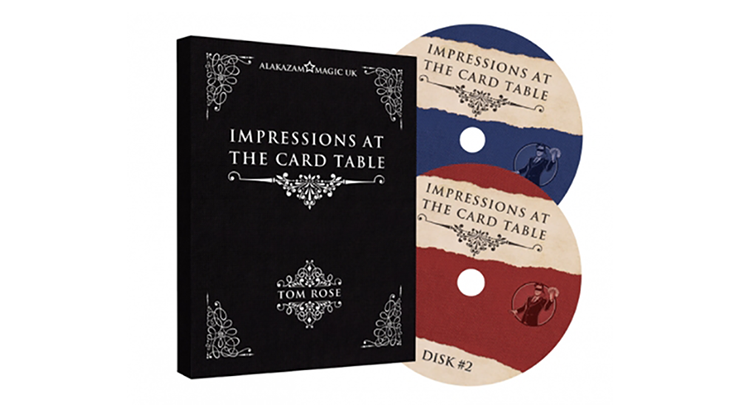 Impressions at the Card Table (2 DVD Set) by Tom Rose - Mystique Factory