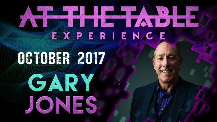 At The Table Live Lecture Gary Jones October 18th 2017 video DOWNLOAD - Mystique Factory
