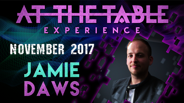 At The Table Live Lecture Jamie Daws November 15th 2017 video DOWNLOAD - Mystique Factory