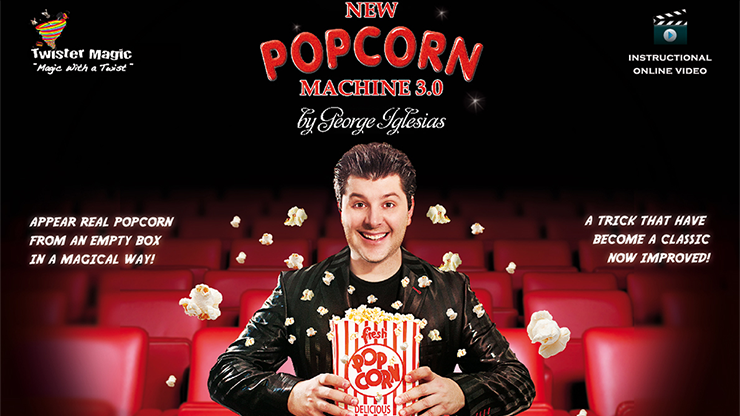 Popcorn Machine 3.0 by George Iglesias and Twister Magic