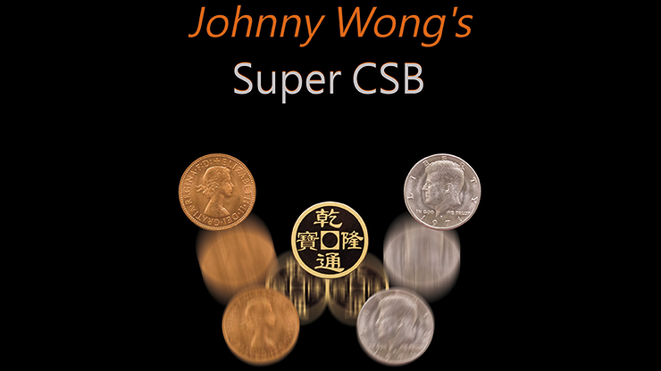 Super CSB (Gimmick and DVD) by Johnny Wong - Mystique Factory