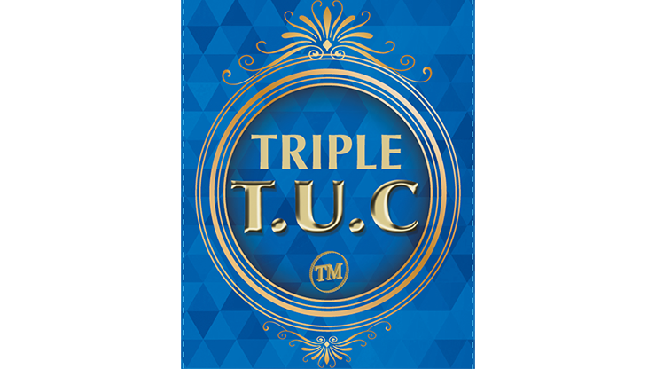 Triple TUC Dollar (Gimmicks and Online Instructions) by Tango