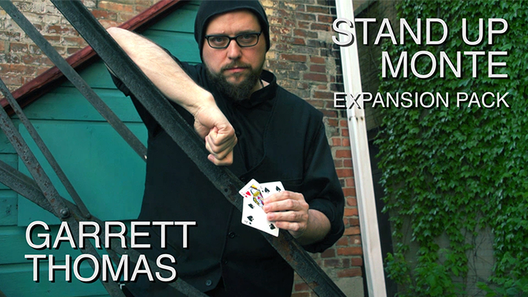 Stand Up Monte Expansion Pack (DVD and Gimmicks) by Garrett Thomas - Mystique Factory
