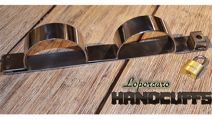 Loporcaro Handcuffs by Amazo Magic