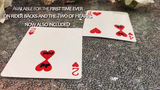 ONE Two of Hearts (Online Instructions and Red Gimmick) Edition by Matthew Underhill - Mystique Factory
