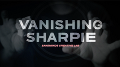 Vanishing Sharpie (DVD and Gimmicks) by SansMinds Creative Lab