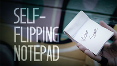 Self-Flipping Notepad (DVD and Gimmick) by Victor Sanz