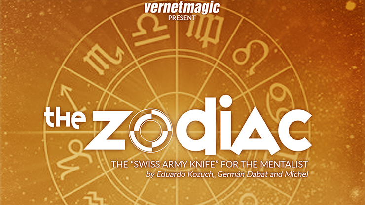 The Zodiac (Gimmicks and Online Instructions) by Vernet