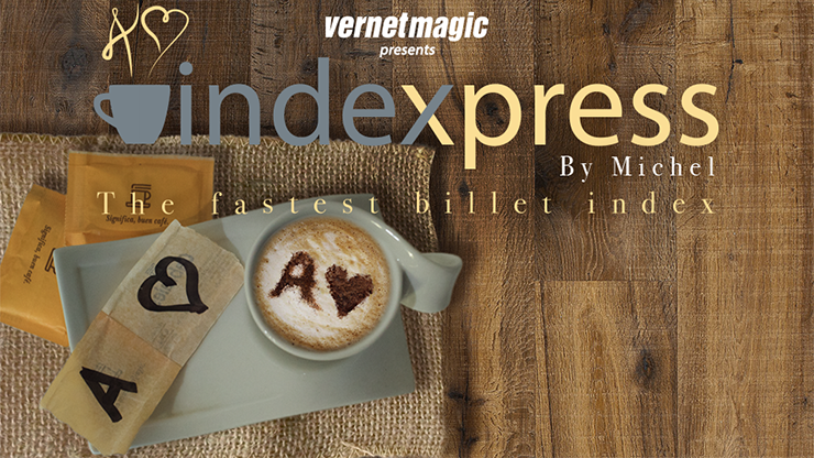 Indexpress (Gimmick and Online Instructions) by Vernet Magic - Mystique Factory