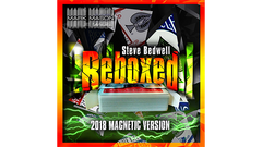 Reboxed 2018 Magnetic Version Blue (Gimmicks and Online Instructions) by Steve Bedwell and Mark Mason