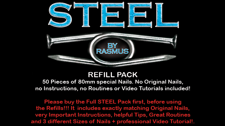 Steel by Rasmus REFILL